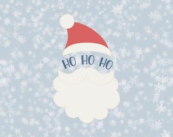 Santa svg, santa head svg, santa hat svg, santa svg files, santa svg designs, santa svg for cricut, santa svg for shirt, santa face svg, dxf