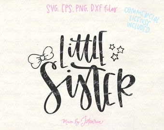 Little sister svg, sister svg, sisters svg, baby sister svg, best sister svg, sister shirts svg, little sister file, sister cut file, bow