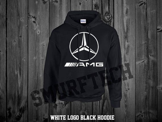 mercedes benz amg star adult pullover hooded sweater. Black Bedroom Furniture Sets. Home Design Ideas