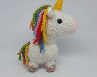 PATTERN ONLY - Amigurumi Unicorn Crochet Pattern