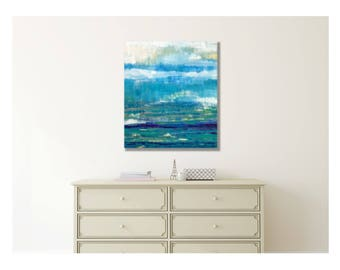 Modern Coastal Art, Abstract Coastal Art, Coastal Seascape Art, Abstract Coastal Painting, Coastal Abstract Art, Modern Abstract Seascape