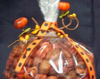 3 Full Cups Orange Putka Pods unscented Potpourri mini pumpkins dried bowl filler fall decor Halloween  Bulk