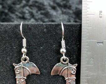 Horse head earrings #276