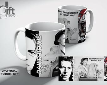 David Bowie personalised Mug. Make it your own. A perfect gift for someone special