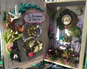 I Dreamed of Paris, fairy diorama book