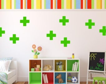 Cross Wall Decal, Choose From Many Colours and Sizes