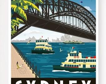 Harbour Bridge – Sydney Australia