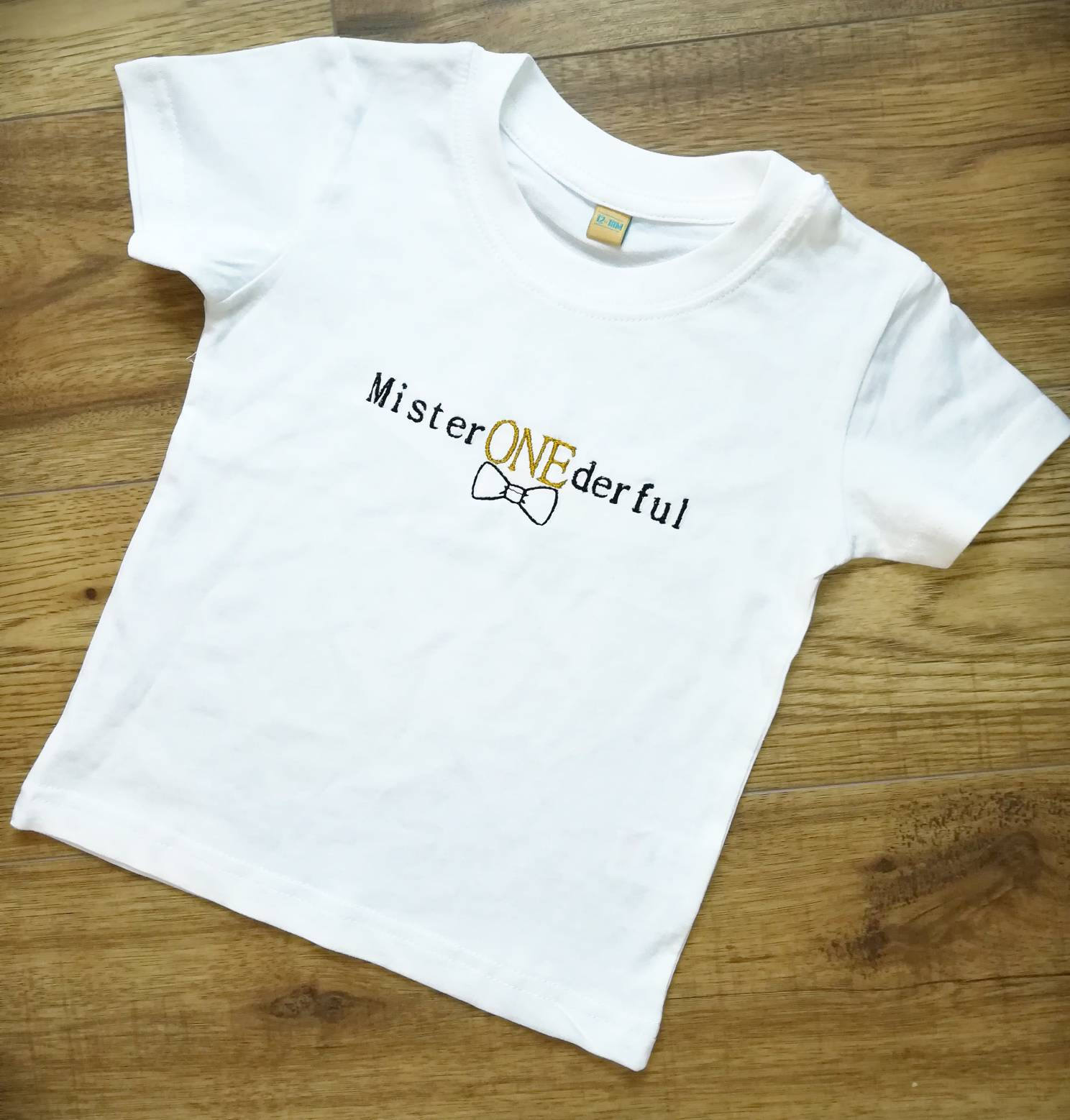 Mr Onederfulbirthday T Shirt1st Birthday Shirtboys 1st