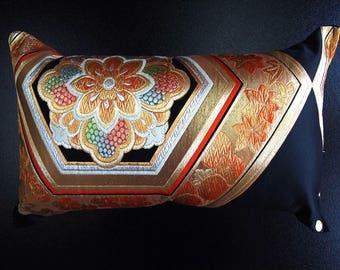 Cushion of Obi (Kimono) Japanese Silk  0000103