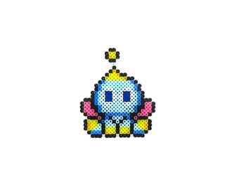 Chao Inspired Magnet | Video Game | Mini Perler Beads