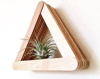 Triangle Air Plant Mount
