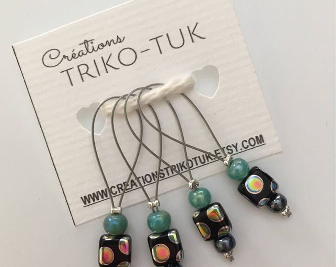 Stitch markers - stitch markers for knitting and crochet - guard mesh