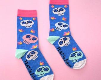Sugar Skull socks