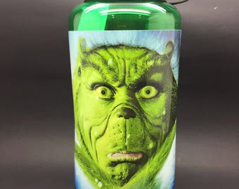 The Grinch Water Bottle