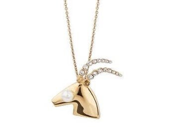 Dior Capricorn horoscope Zodiac necklace