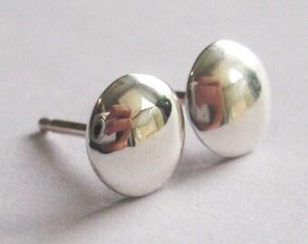 Sterling Silver Studs - Sterling Silver Earrings - Silver Stud Earrings - Minimalist Earrings - Gift for Her