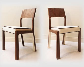 Handmade Walnut Dining Chair
