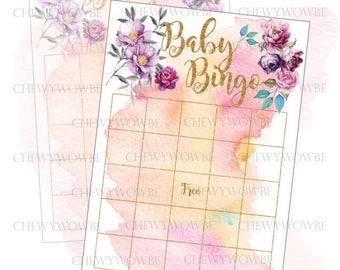 Baby Bingo Boho Style