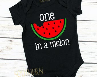 Watermelon Birthday, First Birthday, Watermelon ,Two, One in a Melon, Watermelon party, Smash Cake, 1st Birthday Outfit, Watermelon Birthday