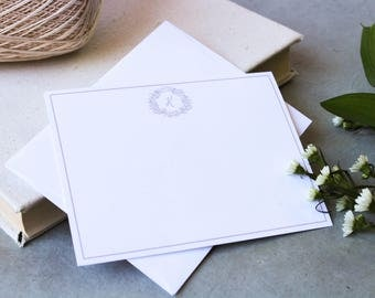 Simple Crest Stationery - Horizontal