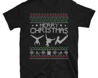Parkour Christmas T Shirt - Xmax Freerunning Apparel