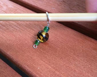 Jane Seymour Knitting Stitch Marker (US size 8 needles or smaller)