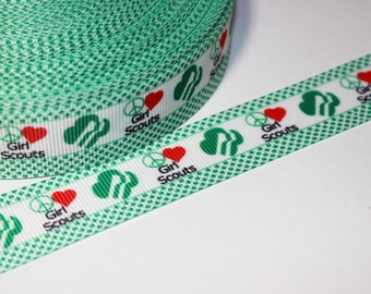 Peace, Love, Girl Scout Ribbon