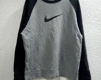 Vintage 90s Nike Big Logo Swoosh Sweatshirt