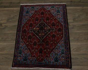 Delightful Handmade Small Bidjar Sanneh Persian Rug Oriental Area Carpet 2'5X3'7