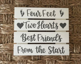 Twin Sign | Nursery Decor | Twin Nursery | Custom Wood Sign | Twin Decor | Nursery decor | Twin Baby Shower | Neutral Nursery