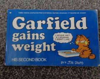 1981 Garfield Gains Weight by Jim Davis SC Book