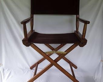 Vintage directors chair Etsy