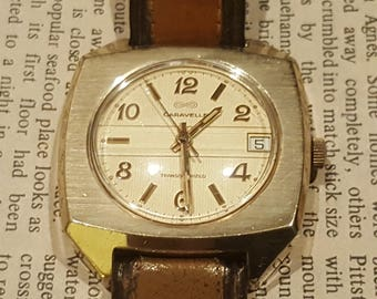 1970 Caravelle (Bulova) 13 Jewel Electronic Transistorized Watch with Swiss ESA 9157