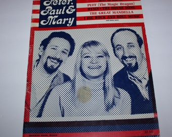 Peter Paul & Mary Song Book 1967