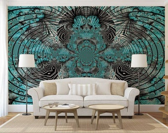 Wallpaper Abstract, Wall Decal Abstract, Wall Mural Fantasy, Wall Mural Abstract