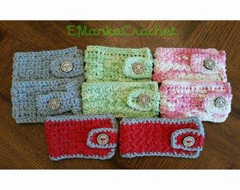 Crochet Mug Cozy various colors