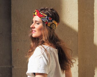 Wax OUAGADOUGOU headband