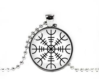 Viking Symbol of Protection Necklace Norse Symbol Necklace Vikings Necklace