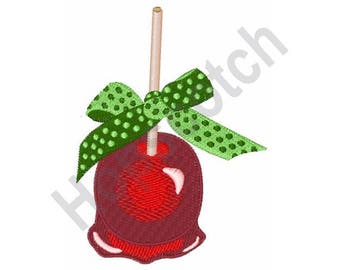 Candied Apple - Machine Embroidery Design