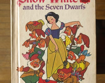 Walt Disney's Snow White and the Seven Dwarfs by Random House 1973