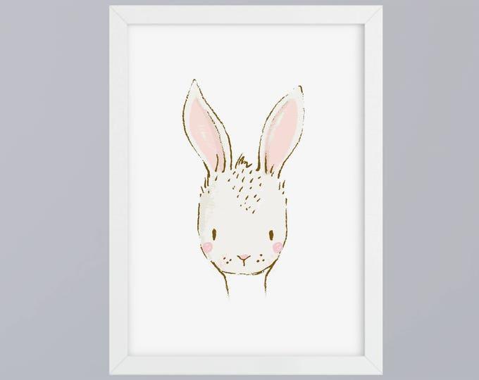 Bunny recognized - unframed art print