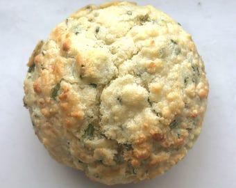Gluten Free Biscuits (Cheddar & Chive) - 4 per order