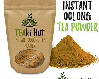 TEAki Hut Organic Instant Oolong Tea Powder (2 oz / 40 Servings)