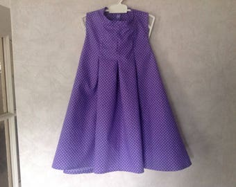 Lilac Sleeveless Tunic Dress