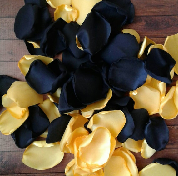 Black And Yellow Wedding Flowers: Black And Yellow Wedding Decor, Wedding Decorations