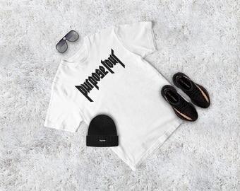 Purpose Tour tshirt - Justin Bieber tshirt, Purpose Tour, Tour tshirt, Justin Bieber shirt, Bieber tee, graphic tee, Purpose Tour tshirt