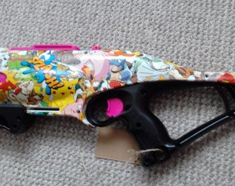 Nerf Rebelle Guardian Hydrodipped with Minions print
