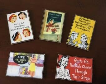 5 Retro Inspired Kitchen Magnets