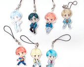 BTS (Bangtan Boys) DNA Acrylic Phone Charm
