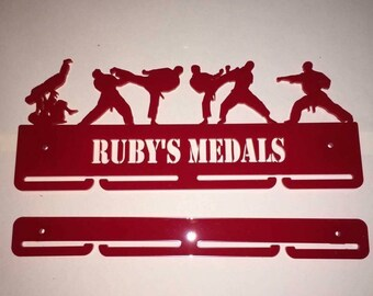 Personalised acrylic medal holders